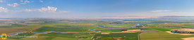 Aerial Panorama of the Sacramento Delta #1
