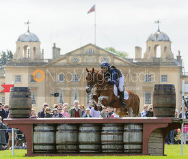 Jonathan Paget and ClIFTON LUSH - Cross Country - Mitsubishi Motors Badminton Horse Trials 2013.