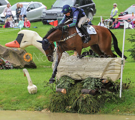 Polly Stockton and IMPERIAL TRUMP - Event Rider Masters CIC***