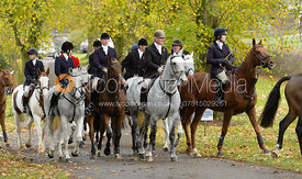 Nick Wright at the meet - Cottesmore Hunt Opening Meet, 24/10/2017