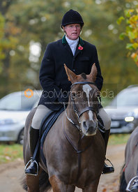 Supporters at the Fitzwilliam Hunt Opening Meet 2014.