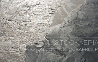 Oilsands Tailings Pond, Aerial Photo