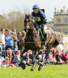 Clare Lewis and SIDNIFICANT - Cross Country - Mitsubishi Motors Badminton Horse Trials 2013.