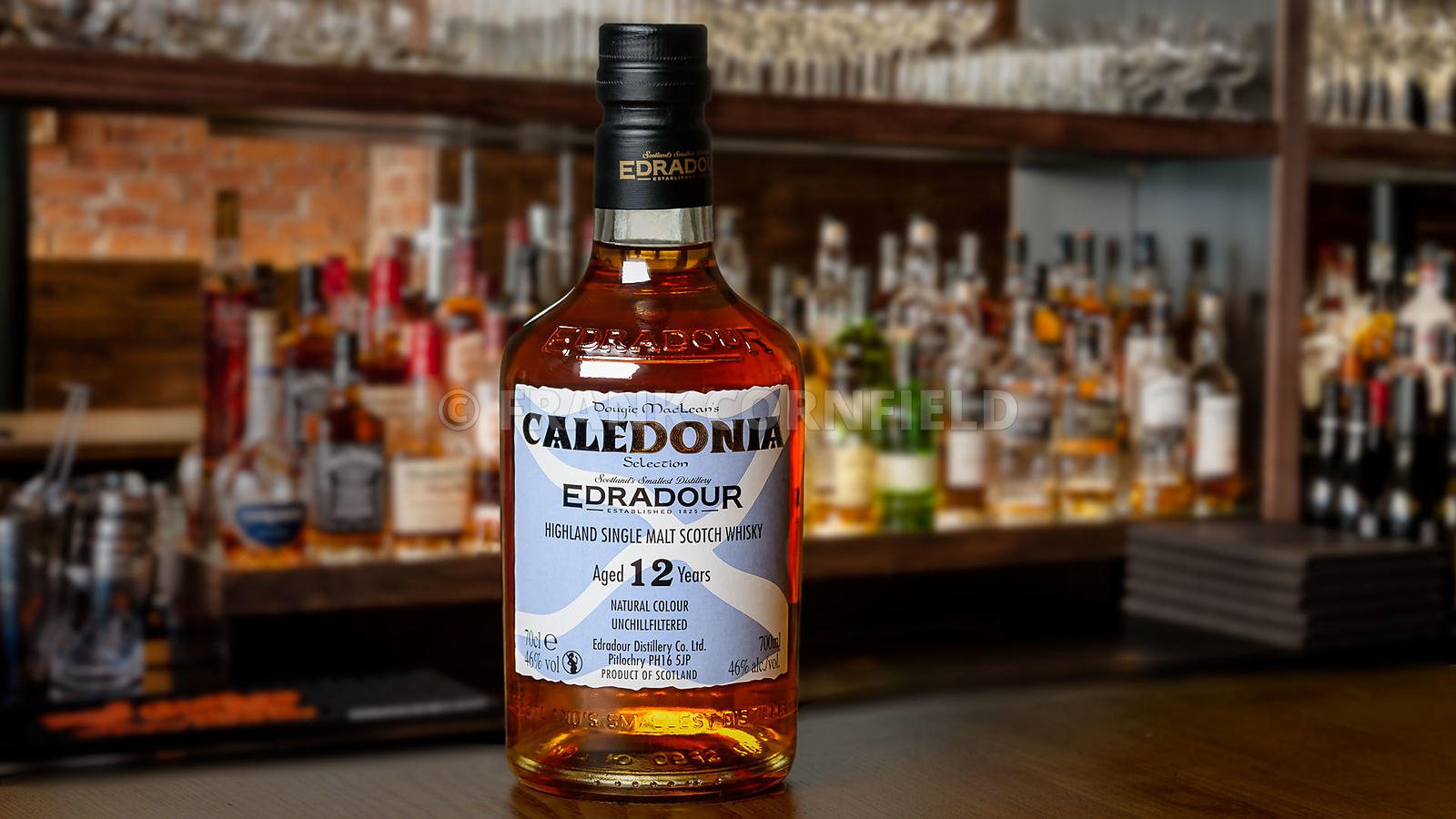 Edradour 12 year old scotch whisky