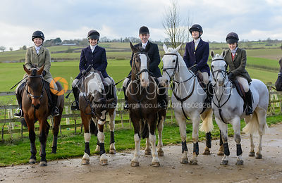 The Cottesmore Hunt at Stone Lodge 10/1 photos