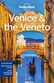 Cover Lonely Planet Venice and the Veneto 2018 guidebook