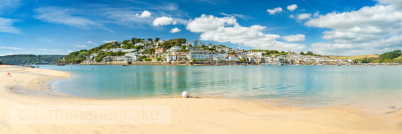 BP6518 - Panoramic view of Salcombe from East Portlemouth