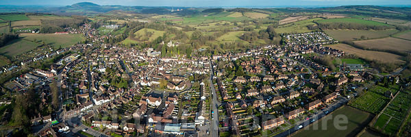 Much Wenlock (Panorama)