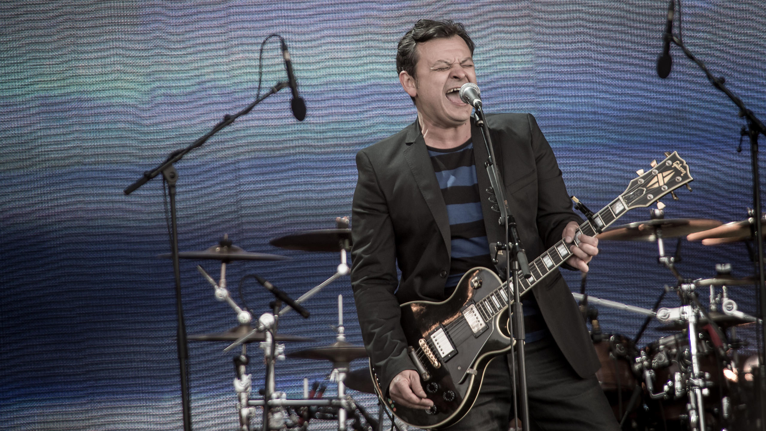 Manic Street Preachers playing Radio 2's Hyde Park Festival in a Day 2013