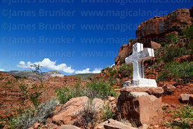 Cross on Calvario / Stations of the Cross above Camargo, Chuquisaca Department, Bolivia
