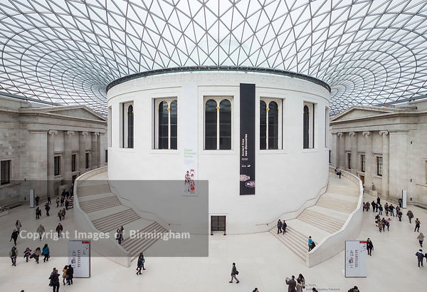 The British Museum, London.  The Great Hall.