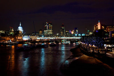 Skyscape of The City of London