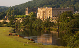 Summer's evening at Chatsworth