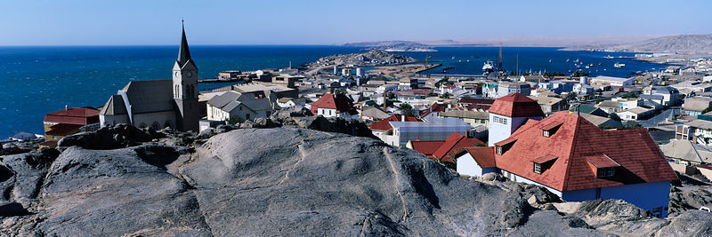 Elevated View of Luderitz