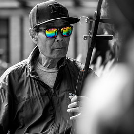 Pause Musicale street photo photo de rues