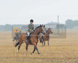 Bee Bell - The Cottesmore Hunt at Tongue End 28/8