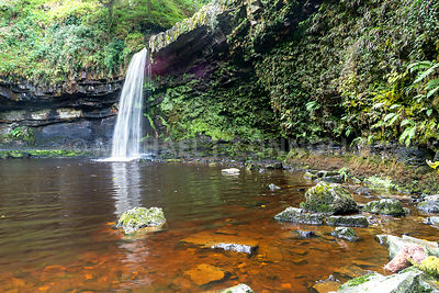 Henrhyd Falls- Breacon Beacons National Park, Wales