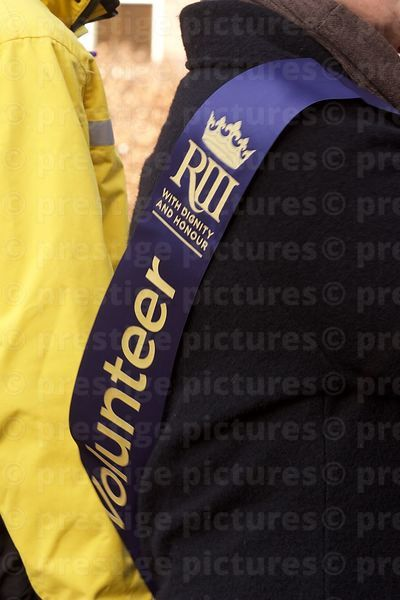 Sash Worn by Richard III Cortege Volunteers
