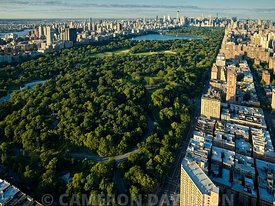 Aerial photograph of Central Park
