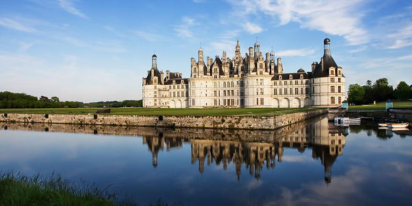 Reflections of the Chateau de Chambord