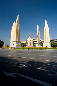 Democracy monument Bangkok Thailand