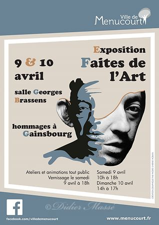 "Exposition ""Faites de l'Art"" Menucourt (95) photos"