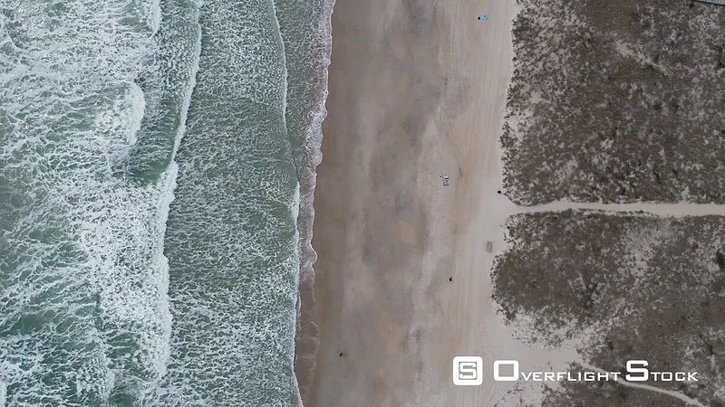 Top Down view of North Carolina Beach