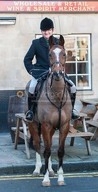 Frazer Houston - The Cottesmore Hunt in Uppingham on New Year's Day 2013