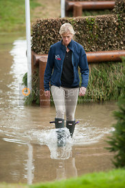 Sinead Halpin - cross country phase,  Land Rover Burghley Horse Trials, 1st September 2012.