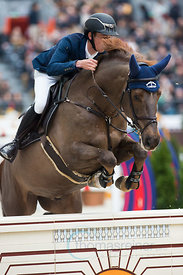 Paris, France, 17.3.2018, Sport, Reitsport, Saut Hermes - .PRIX GL Events Bild zeigt Bertram ALLEN(IRL) riding Christy Jnr...17/03/18, Paris, France, Sport, Equestrian sport Saut Hermes - PRIX GL Events. Image shows Bertram ALLEN(IRL) riding Christy Jnr.