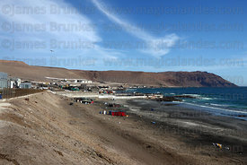 Corpesca S.A. fish processing plant near Arica, Region XV, Chile