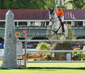 Doron Kuipers and CHARLEY  - FEI Nations Cup, Dublin Horse Show 2017