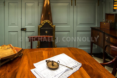 HMS Victory, Lord Nelson's Planning Table- Portsmouth, England