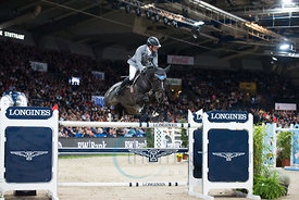 LONGINES FEI World Cup™ Jumping 2017/2018 - Grand Prix of Stuttgart presented by Mercedes-Benz, WALTER solar .and BW-Bank - Stuttgart German Masters