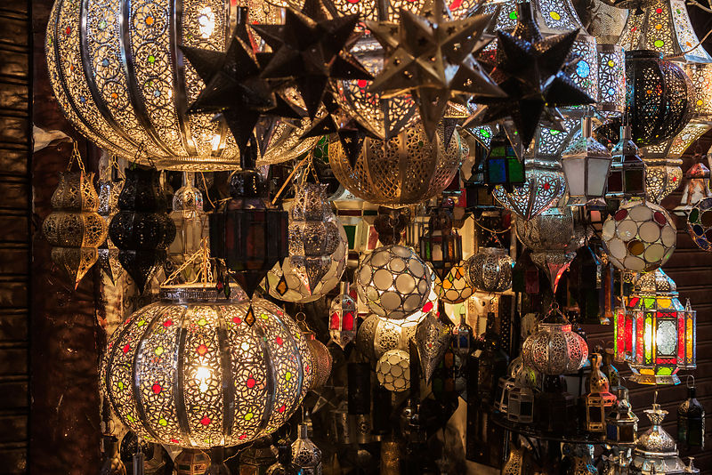 Lamp Shop in Bazaar