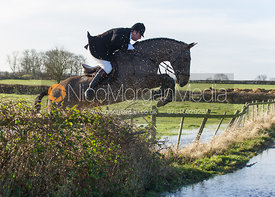 Joey Newton - The Belvoir Hunt at Long Clawson, 15/12/12