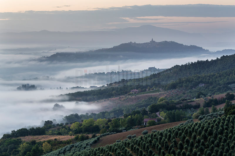 Fog in the Valley near Todi