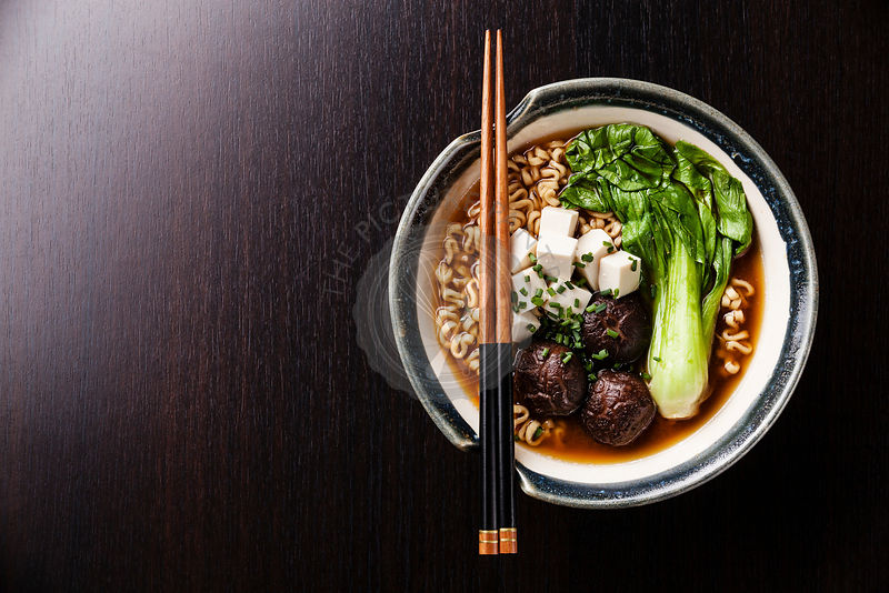 The Picture Pantry Food Stock Photo Library | Miso Ramen ...