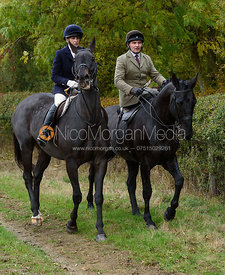 Bruce McKim near Gartree Covert - Quorn Hunt Opening Meet 2016