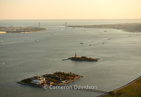 New York Harbor Aerial Photograph