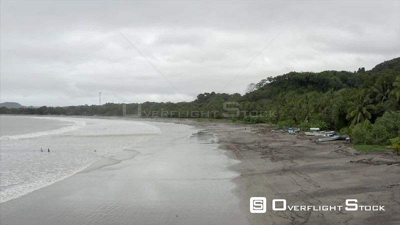 Drone Video Beach Samara Costa Rica
