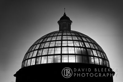 Glass Dome - Greenwich Foot tunnel