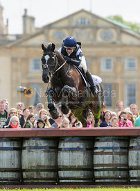 Emily Galbraith and TIMING - Cross Country - Mitsubishi Motors Badminton Horse Trials 2013.