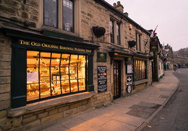 Old original Bakewell pudding shop, Derbyshire