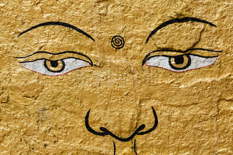 The Eyes of Shakyamuni Buddha