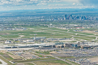 Calgary International Airport Terminal