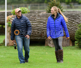 Buck Davidson, Woodge Fulton - Land Rover Burghley Horse Trials 2017