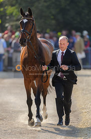 Michael Jung and LEOPIN FST - Mitsubishi Motors Badminton Horse Trials 2013