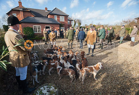 The Westerby Bassets meet at Hill Top Farm 30/01/13