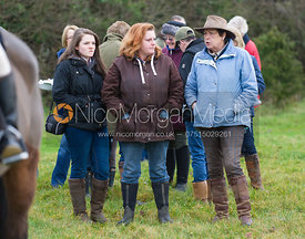 Followers at the meet in Pickworth